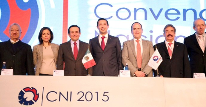 The Secretary of Economy opened the 2015 National Convention of Industrialists