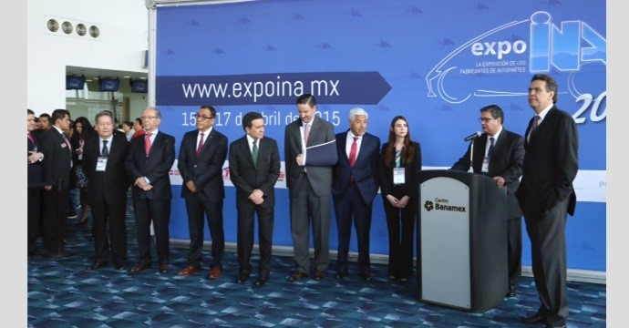 Closure of the XIII International Congress of the Automotive Industry in Mexico