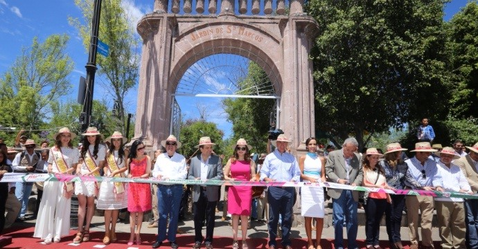 The San Marcos Fair opens in Aguascalientes