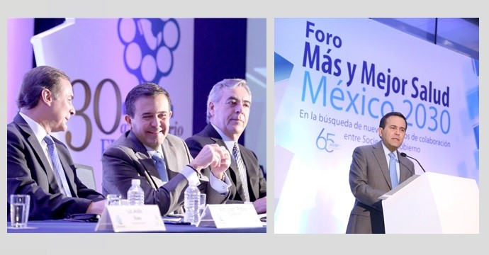 "The Secretary of Economy opens the International Forum ""More and Better Health-Mexico 2030"""