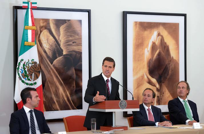 El Primer Mandatario celebró que el sector privado y el Gobierno de la República coincidan en el gran objetivo de lograr que México alcance condiciones de mayor bienestar para su sociedad, y que al país le vaya muy bien.