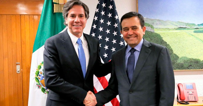 Meeting of the Secretary of Economy with the Undersecretary of State of the United States