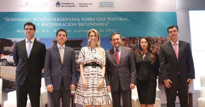 The Secretary of Economy Opens the Mexico-Argentina Seminar on Natural Gas