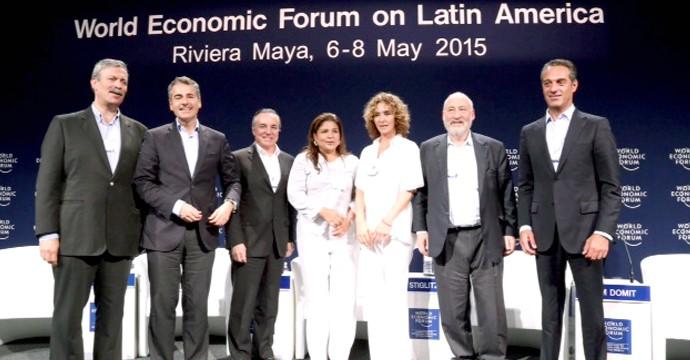 Closing ceremony of the World Economic Forum on Latin America 2015