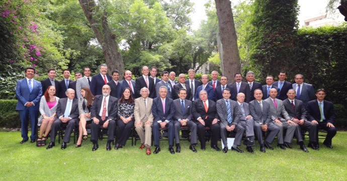 Closing of the LXXVIII Annual General Assembly of the Mining Chamber of Mexico