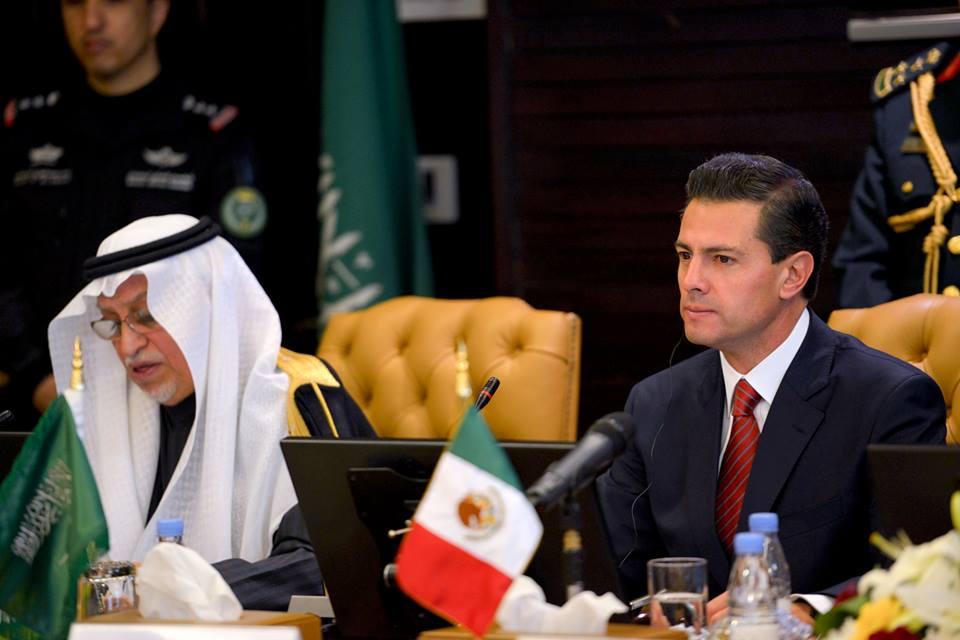 El Primer Mandatario mexicano participó en el Foro Bilateral de Negocios, primera actividad en el marco de la Visita de Estado a Arabia Saudita.