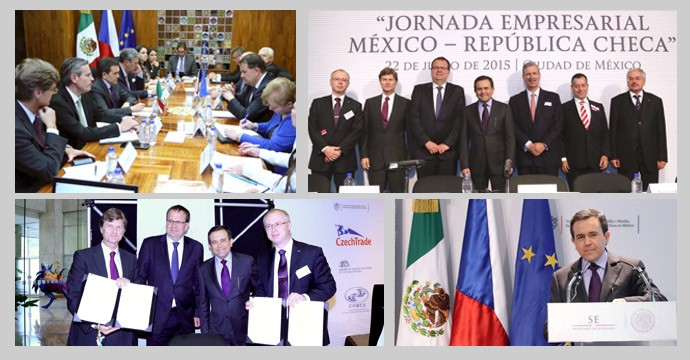 Approach between Mexico and the Czech Republic to Promote Economics Links