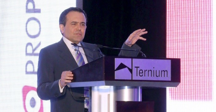 Ildefonso Guajardo participated in the Meeting Ternium 2015: PROPYMES & SUPPLIER AWARDS
