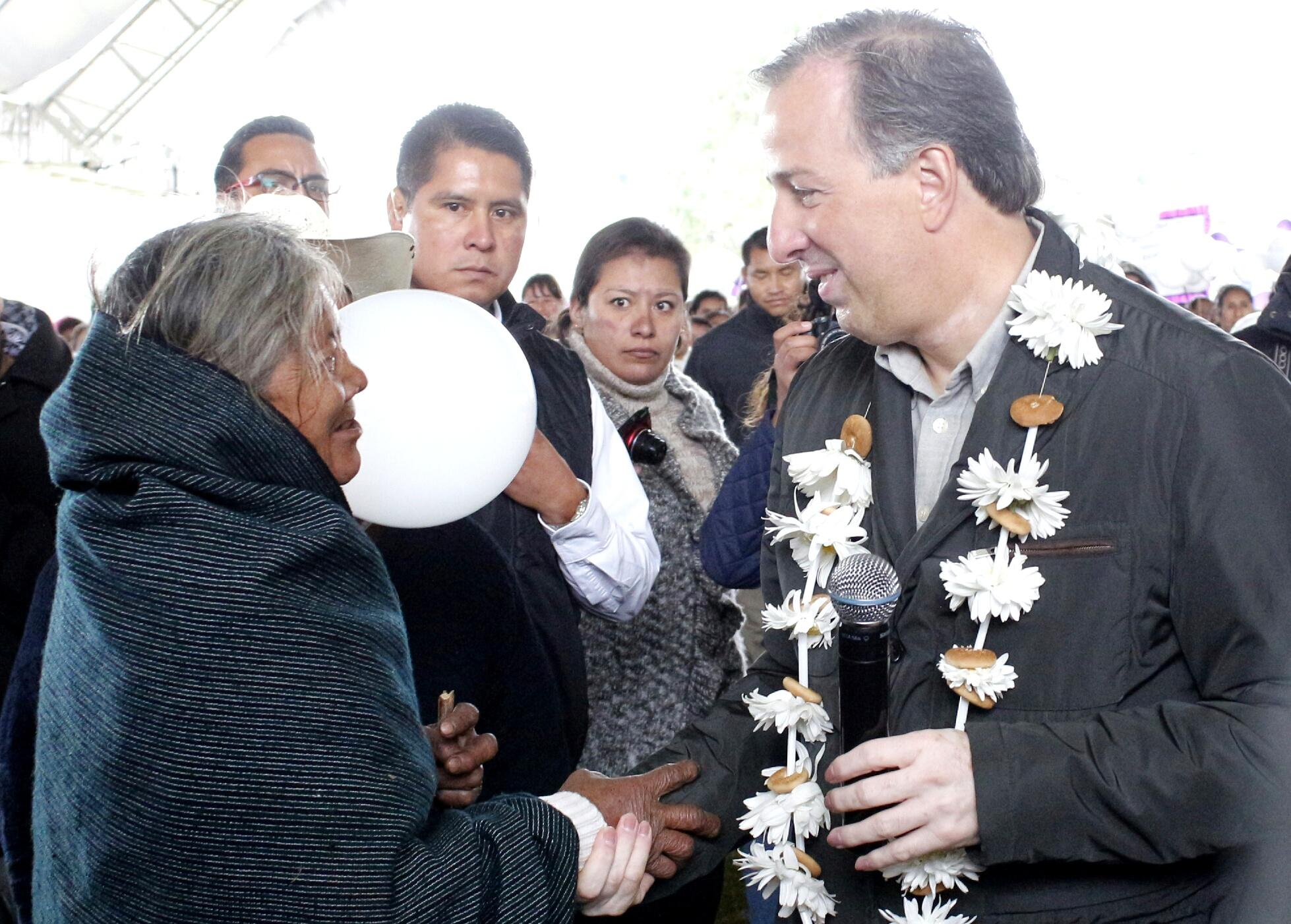 El secretario de Desarrollo Social realizó una gira de trabajo por Hidalgo