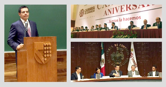 The President of INADEM makes a working tour in Jalisco