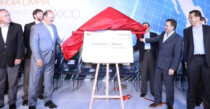 First Plant Dedicated to the Manufacture of Photovoltaic Panels Opens in Mexico