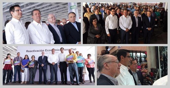 INADEM reaffirms its commitment to the Sector Leather-Footwear of Guanajuato