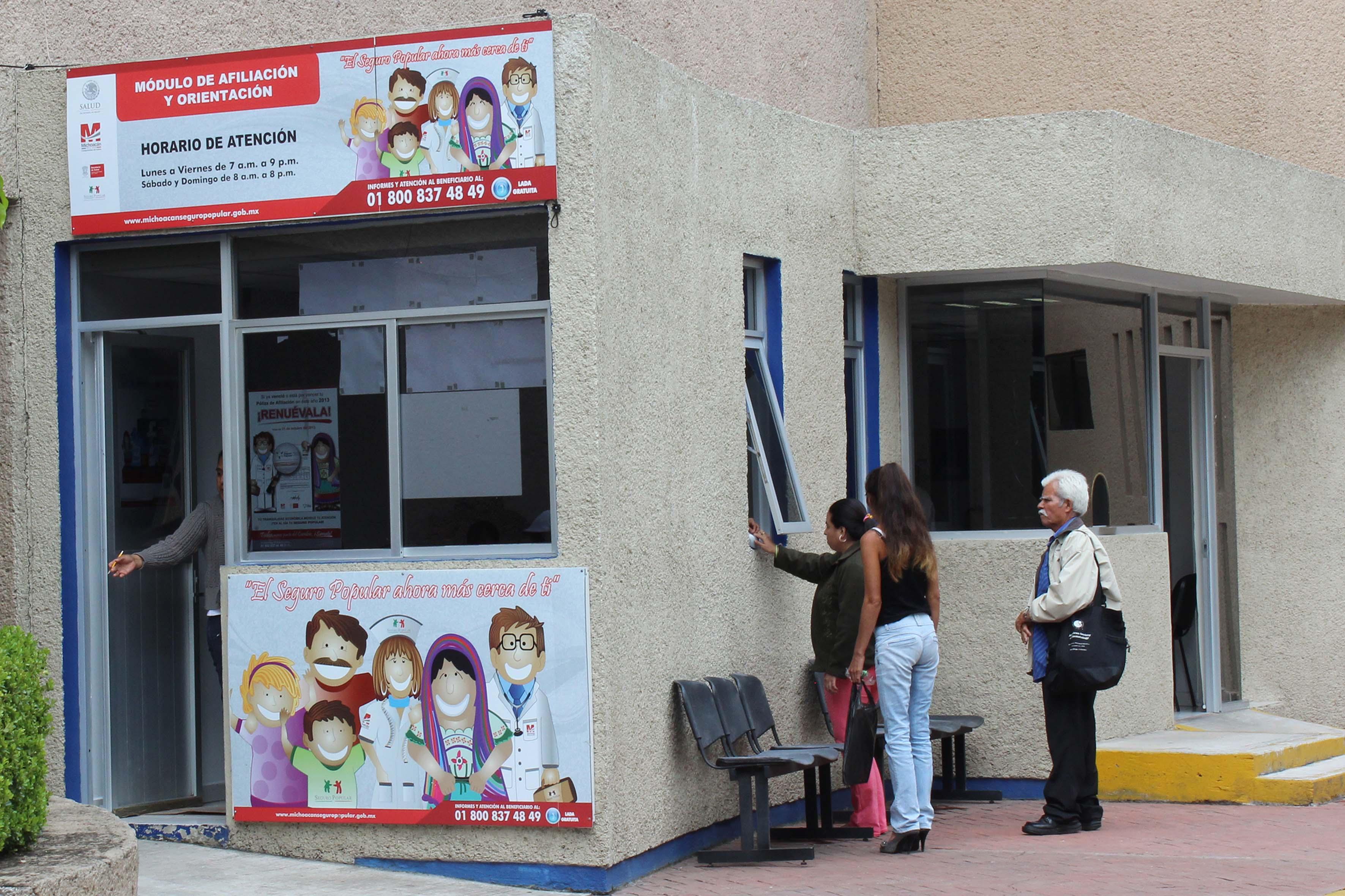 La cobertura total de servicios de salud del SP es de poco más de 57 millones de mexicanos.