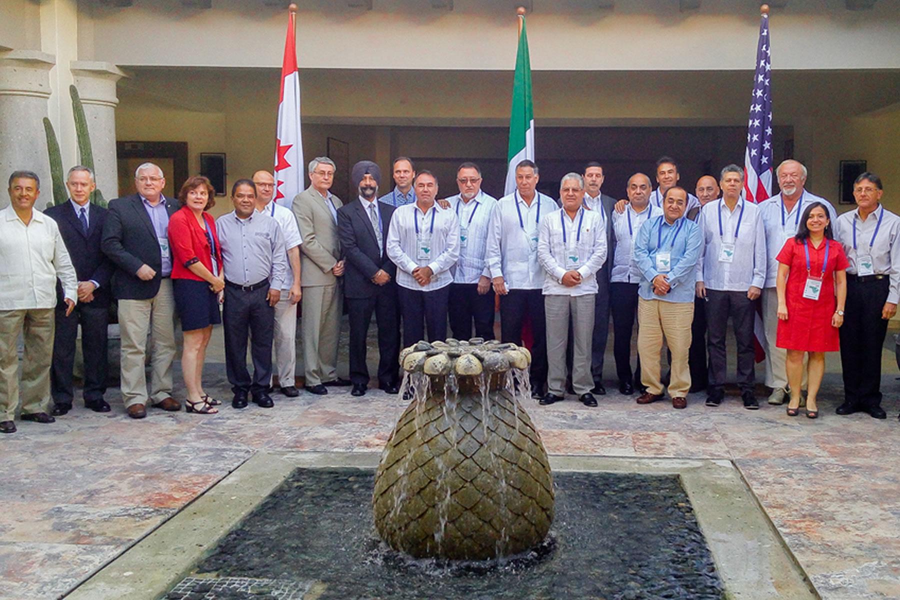 Firma de la Carta de Intención por parte de las autoridades sanitarias de México, Estados unidos y Canadá.