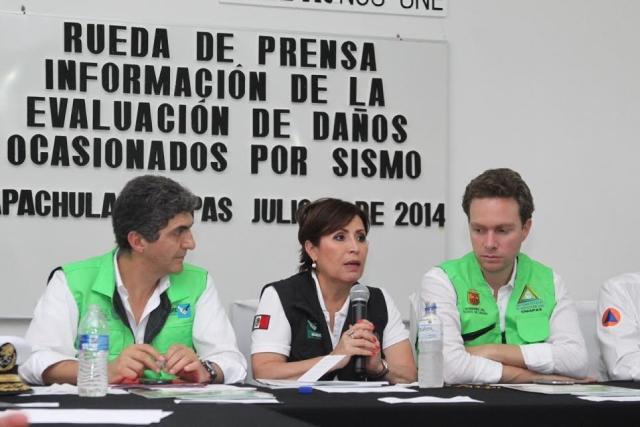Anuncia la Secretaria Rosario Robles Berlanga una página de Internet en la cual se darán a conocer procesos financieros, recursos y acciones desarrolladas