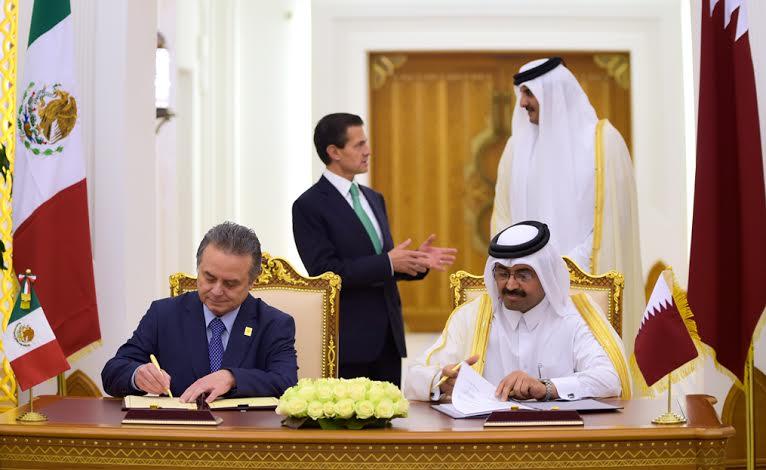 En la gira por cuatro naciones del Medio Oriente, que hoy concluyó, se firmaron y actualizaron 46 instrumentos de cooperación.