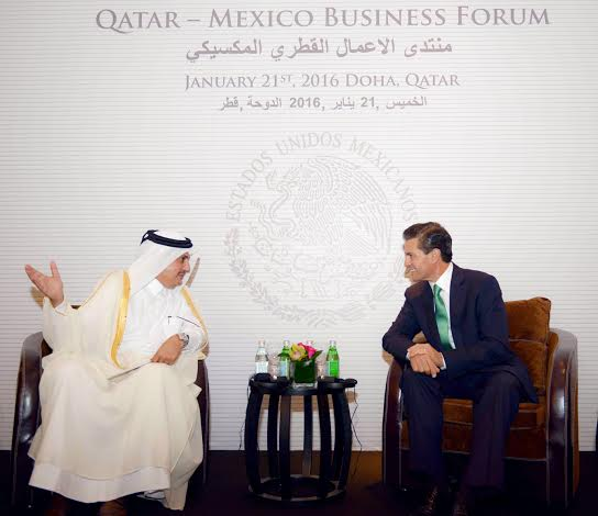 Unámonos los empresarios qataríes y mexicanos para hacer asociaciones y proyectos mixtos  en beneficio de las economías de ambos países: Presidente de la Cámara de Comercio e Industria de Qatar.