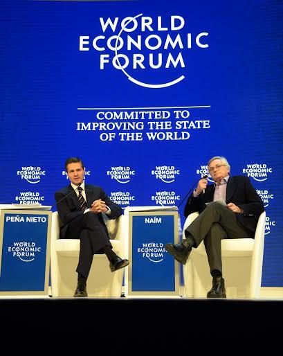 En la Sesión Plenaria: A new agenda for Latin America, el Mandatario mexicano estableció que las reformas dan mejor blindaje frente al escenario mundial de volatilidad y de aversión al riesgo.