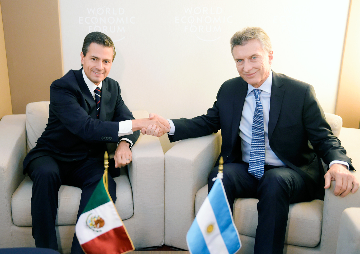 This is the first meeting between the two heads of state since Macri became president of Argentina on December 10, 2015.