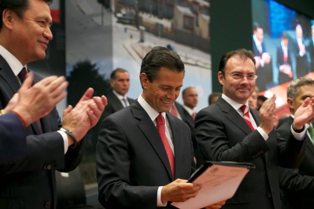 Presenta el Presidente Peña Nieto el Programa Nacional de Infraestructura 2014 -2018; prevé una inversión global de 7.7 billones de pesos