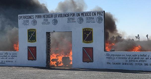 PGR incinera más de cinco toneladas de estupefacientes.