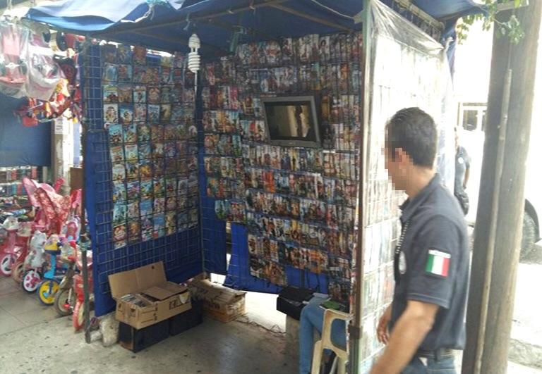 PGR asegura productos apócrifos en Oaxaca