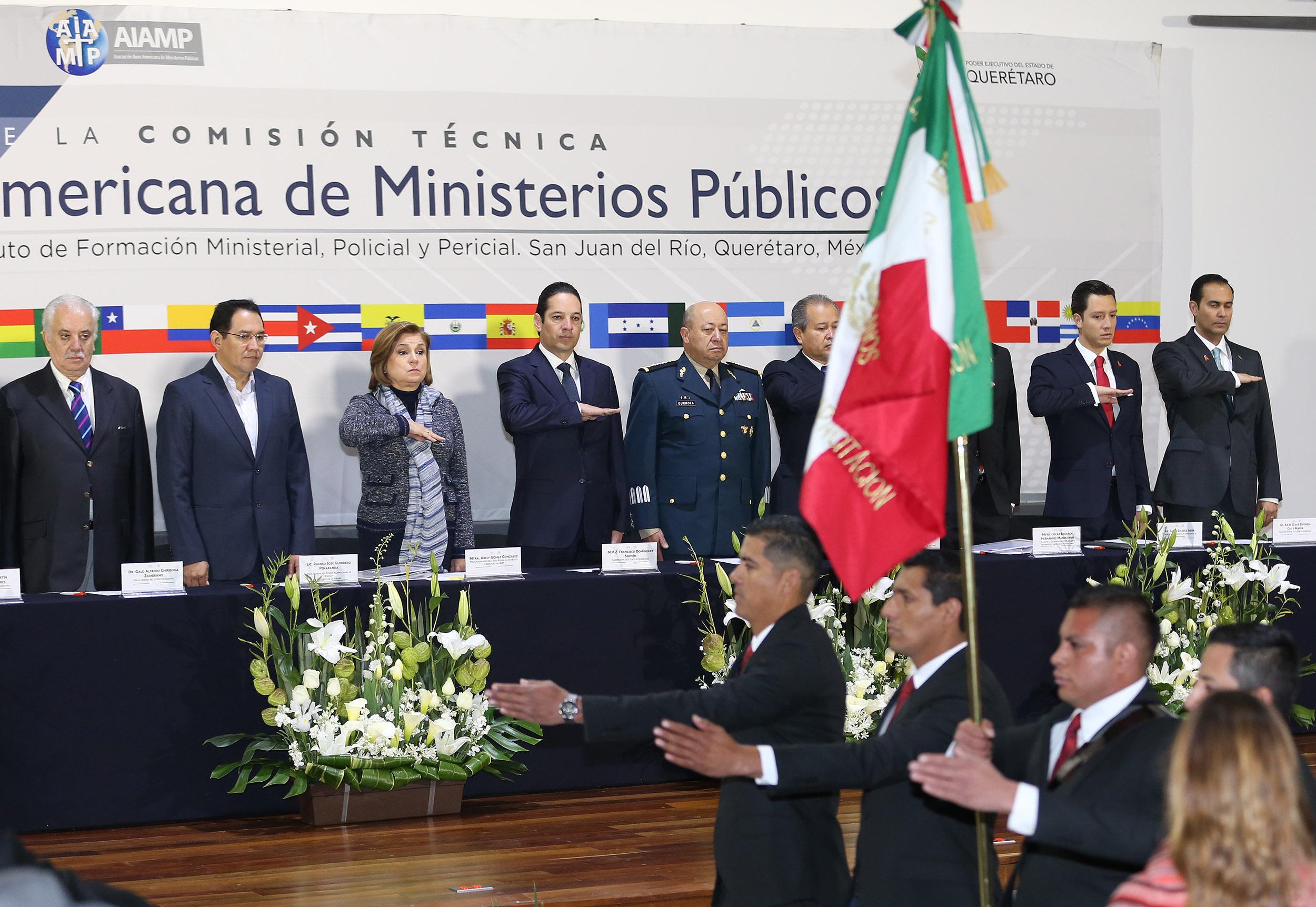 Primera Reunión de la Comisión Técnica de la AIAMP.