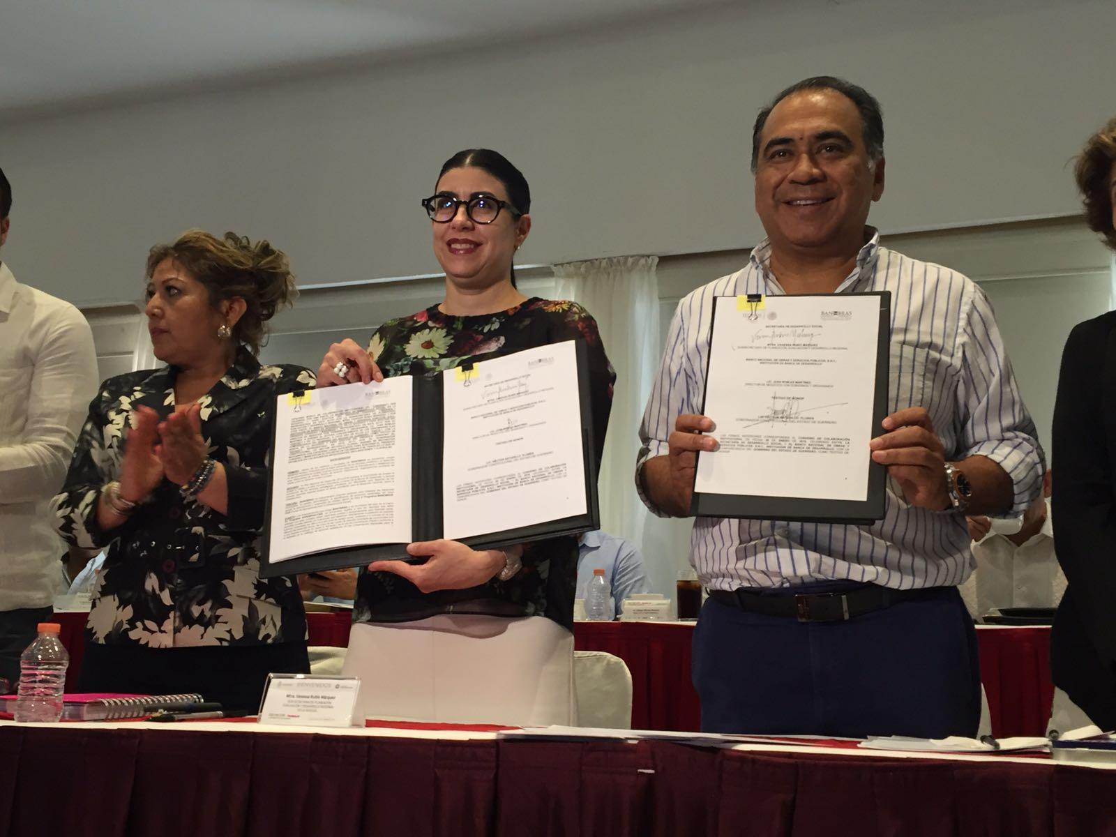 La subsecretaria Vanessa Rubio Márquez participó en un encuentro con los presidentes municipales del estado de Guerrero