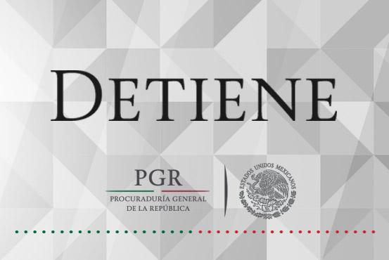 Resultado de colaboración PGR-Fiscalía del Estado de Guerrero, detención de probable homicida