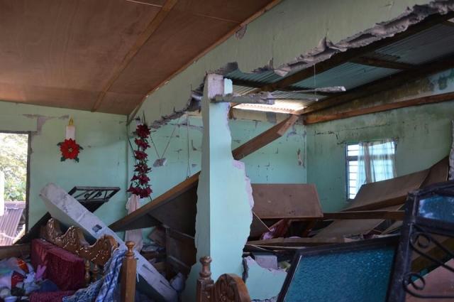 Censo de Viviendas dañadas en Chiapas