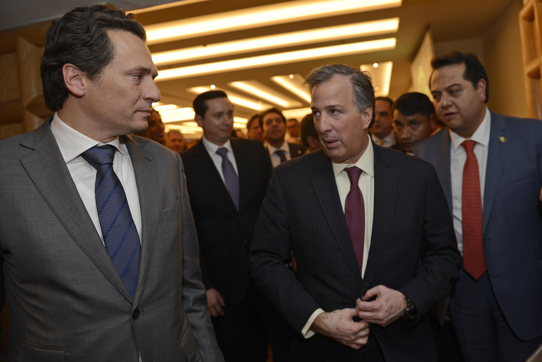 El secretario Meade se reunió con la Asociación Mexicana de la Industria del Petróleo para revisar los indicadores de pobreza en México