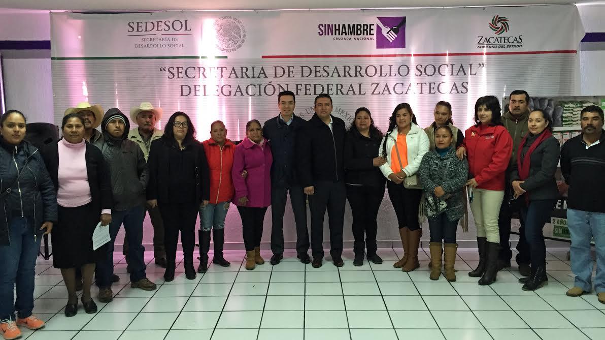 Sedesol y el gobierno de Zacatecas impulsan estrategia común para combatir la pobreza en el estado