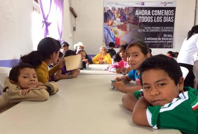 """Comedor Comunitario de """"La Cedrera"""" en Uruapan, Mich."""