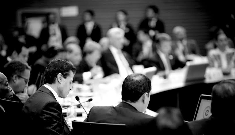 The Mexican president participated in the plenary session of the Fourth Summit of CELAC.