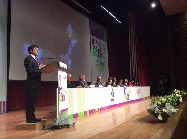 El Secretario Virgilio Andrade en la ceremonia del Día Internacional de Protección de Datos Personales