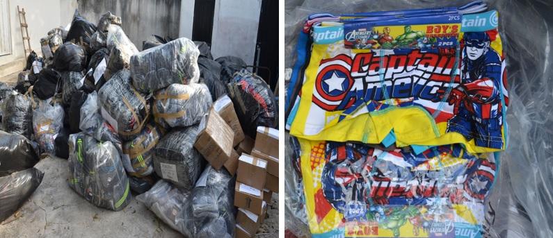 Consigna PGR a dos personas por transportar mercancía de procedencia extranjera