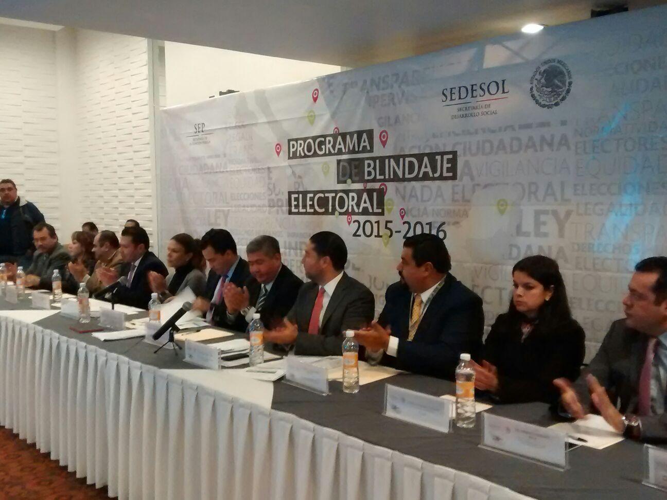 FEPADE y SEDESOL inician trabajos de blindaje electoral en Hidalgo