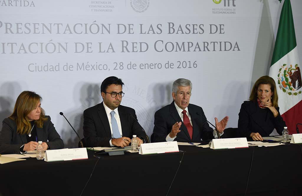 Titulares de la SCT y el IFT detallan las bases de la licitación internacional de la Red Compartida