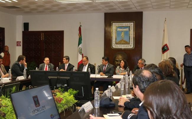 Participa PGR Morelos en la reunion ejecutiva de implementación del Sistema de Justicia Penal en el estado.