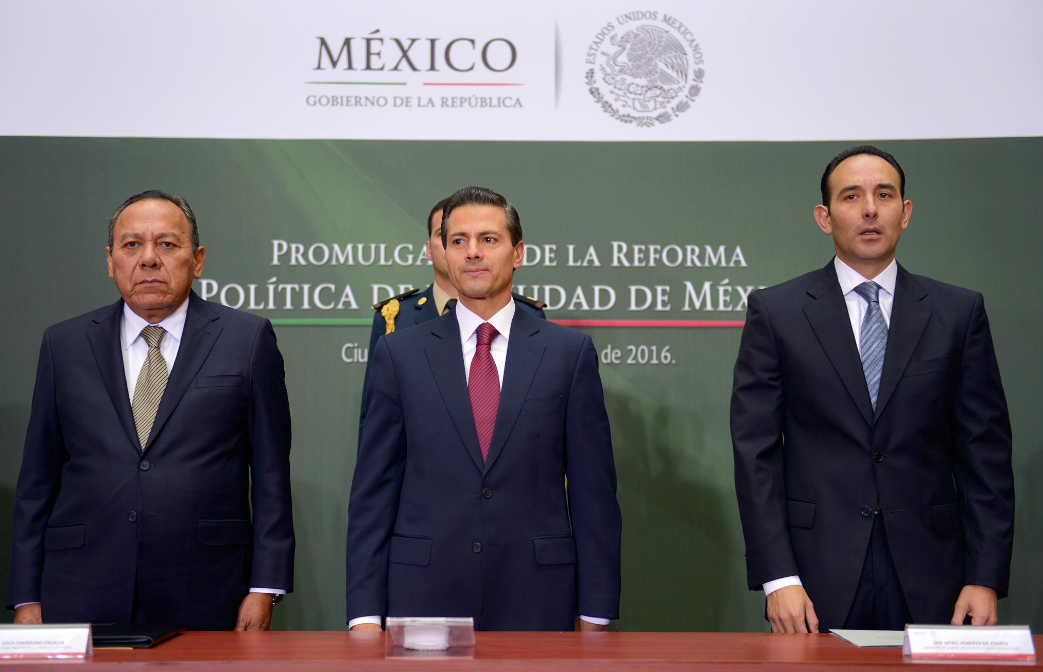 La Reforma Política de la Ciudad de México fortalece los derechos de sus ciudadanos y habitantes, quienes ahora estarán en mejores condiciones para participar democráticamente en la solución de los problemas y desafíos de esta gran urbe.