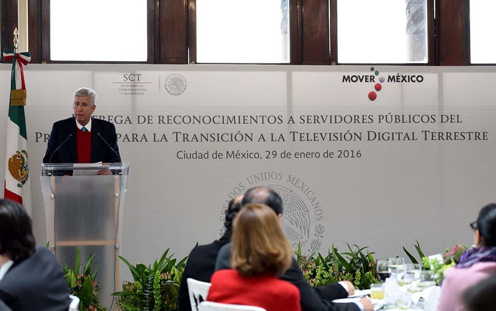 México referente mundial por el éxito del Programa TDT: GRE