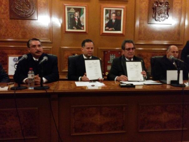 Firma FEPADE convenio de colaboración con el Gobierno de Aguascalientes para prevenir delitos electorales