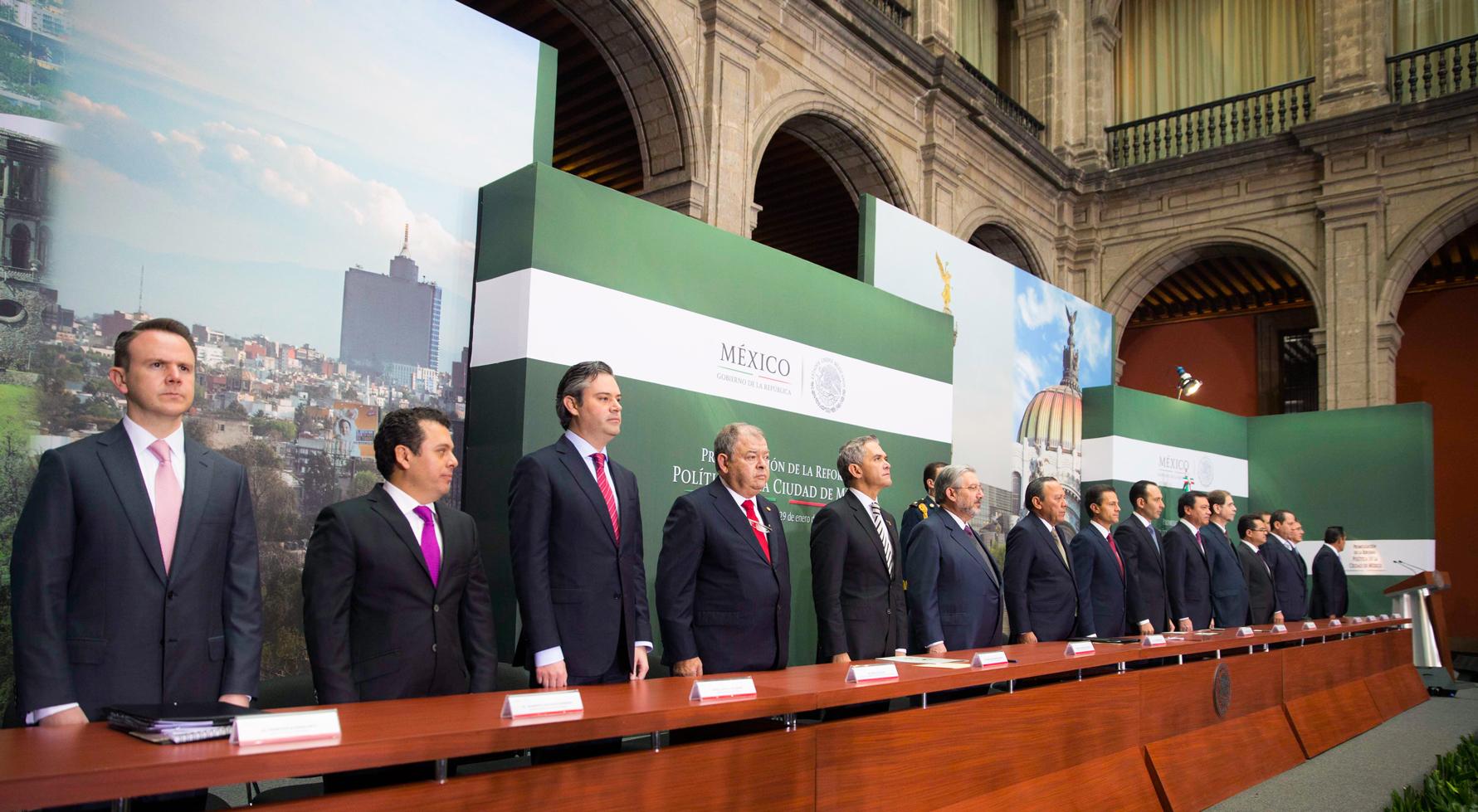 La Reforma Política de la Ciudad de México es otro logro del Pacto por México, que permitió a todas las fuerzas políticas construir acuerdos para el avance de la nación.