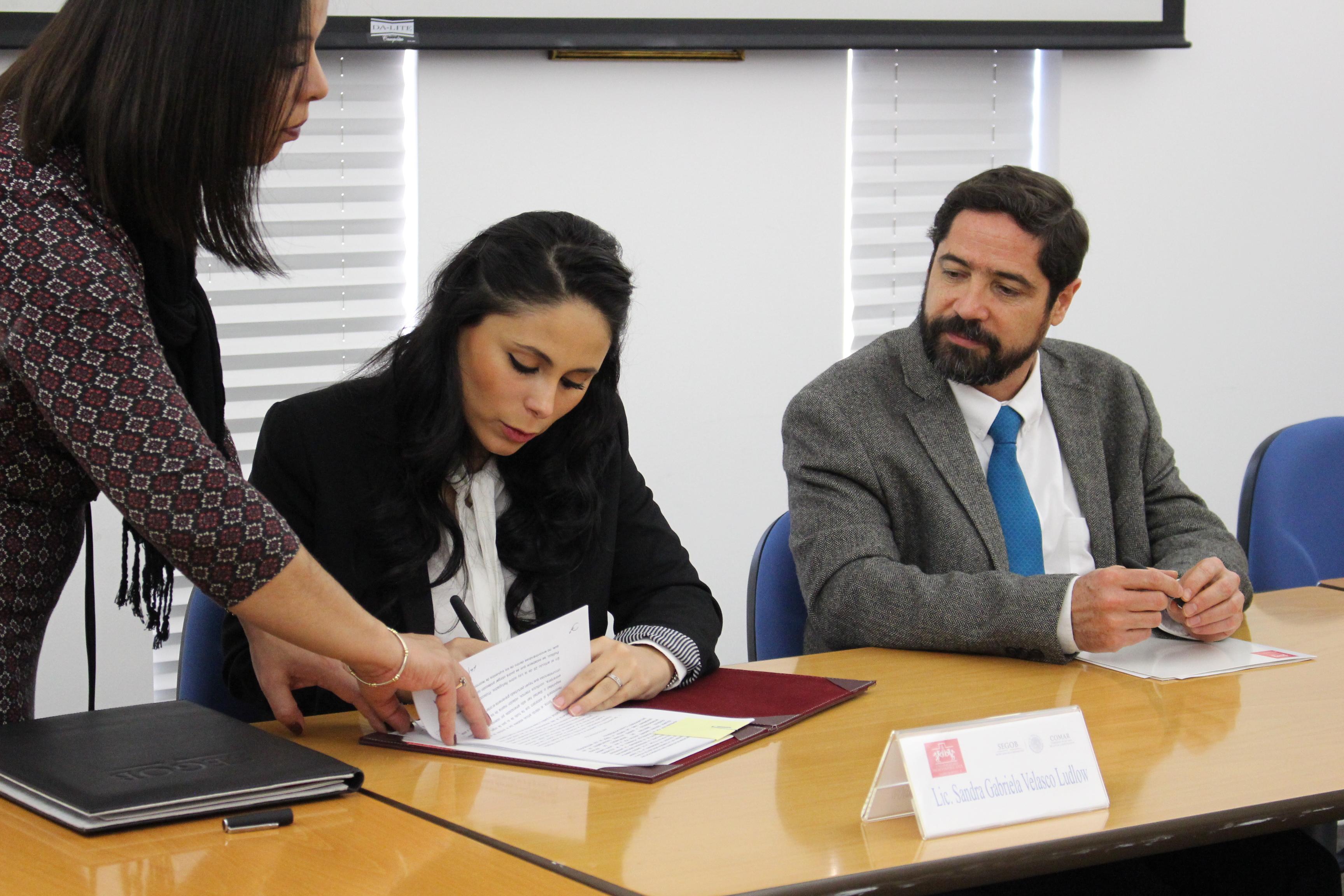 Convenio de Concertación de Acciones con la Universidad Iberoamericana