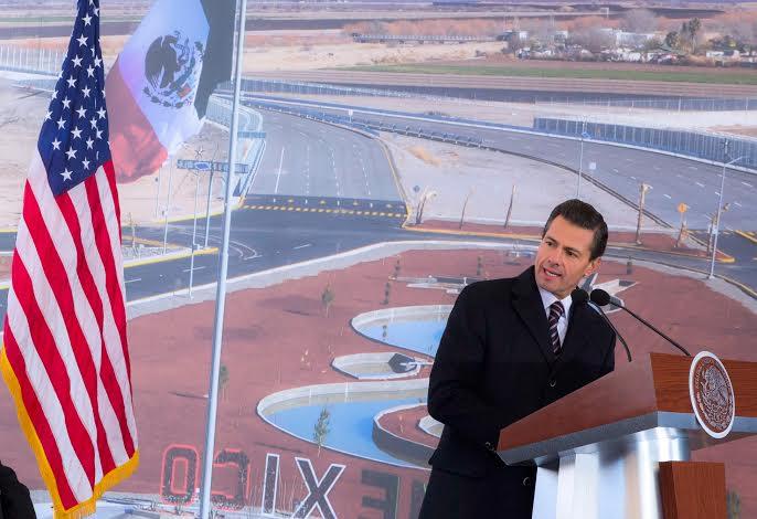 Son dos grandes obras de infraestructura que detonarán la competitividad de la región fronteriza, subrayó el Primer Mandatario.