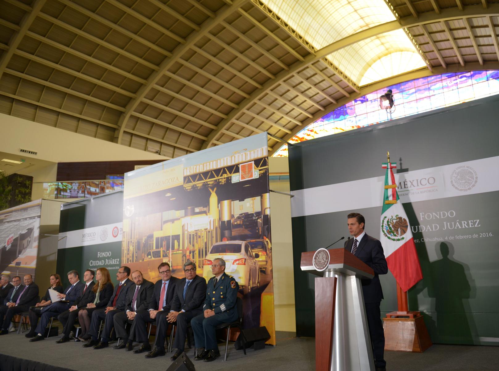 El Fondo Ciudad Juárez cuenta con un capital inicial de mil 600 millones de pesos.