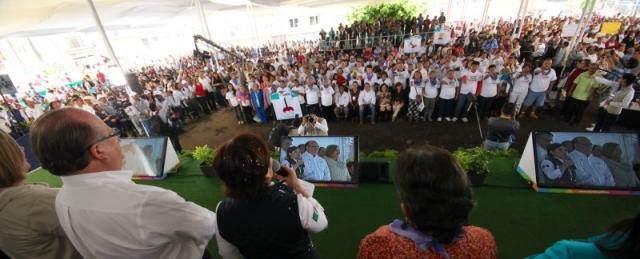 Recorrido de trabajo en Cuernavaca, Morelos