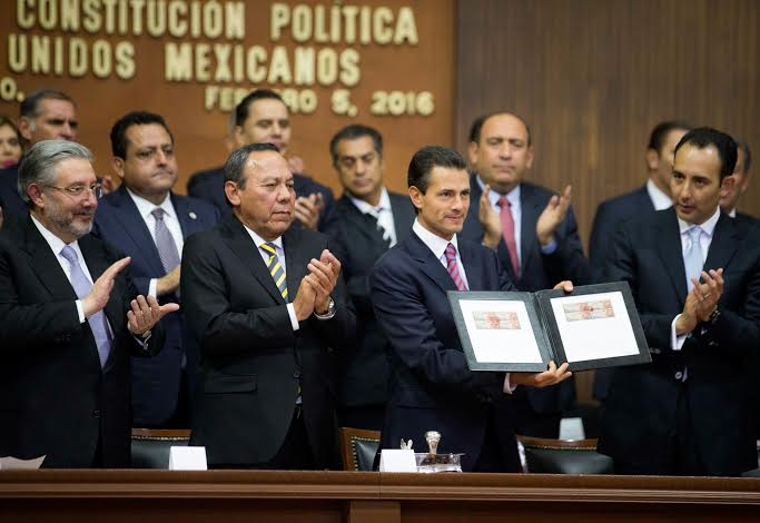 Commemorative Ceremony of the 99th Anniversary of the Passage of the 1917 Mexican Political Constitution