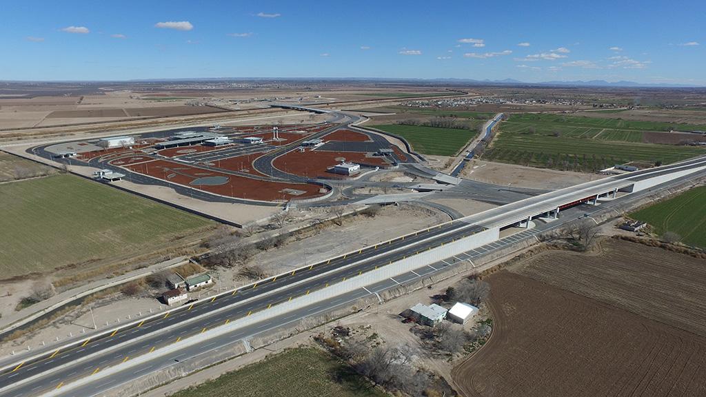 Entrega SCT en chihuahua el Puente Internacional Guadalupe-Tornillo y el entronque La Ribereña