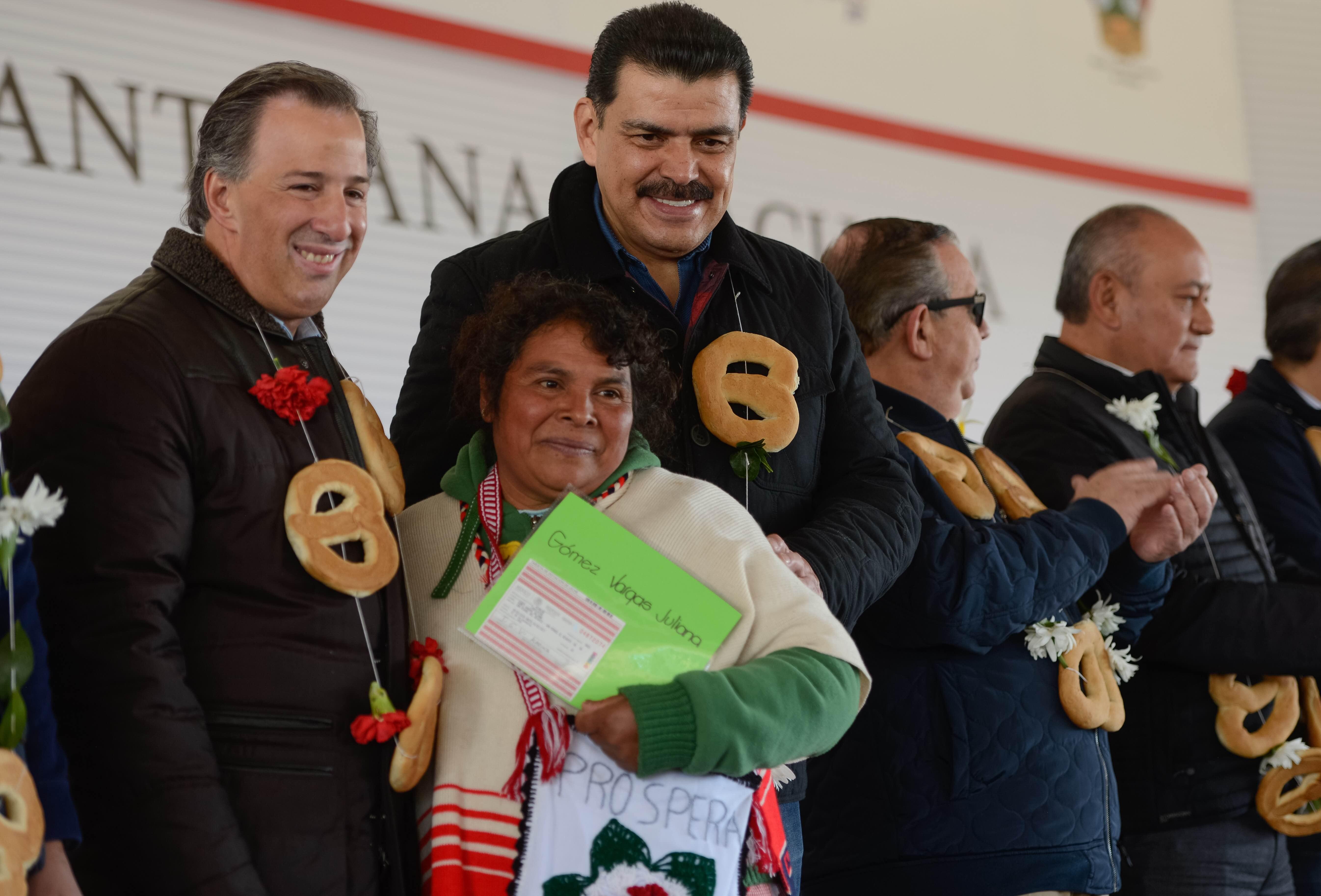 José Antonio Meade Kuribreña, en el marco de su gira de trabajo al estado de Hidalgo